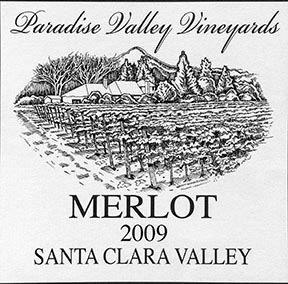 2009 MERLOT WINE ESTATE GROWN