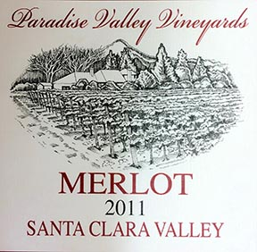 2011 Merlot estate grown